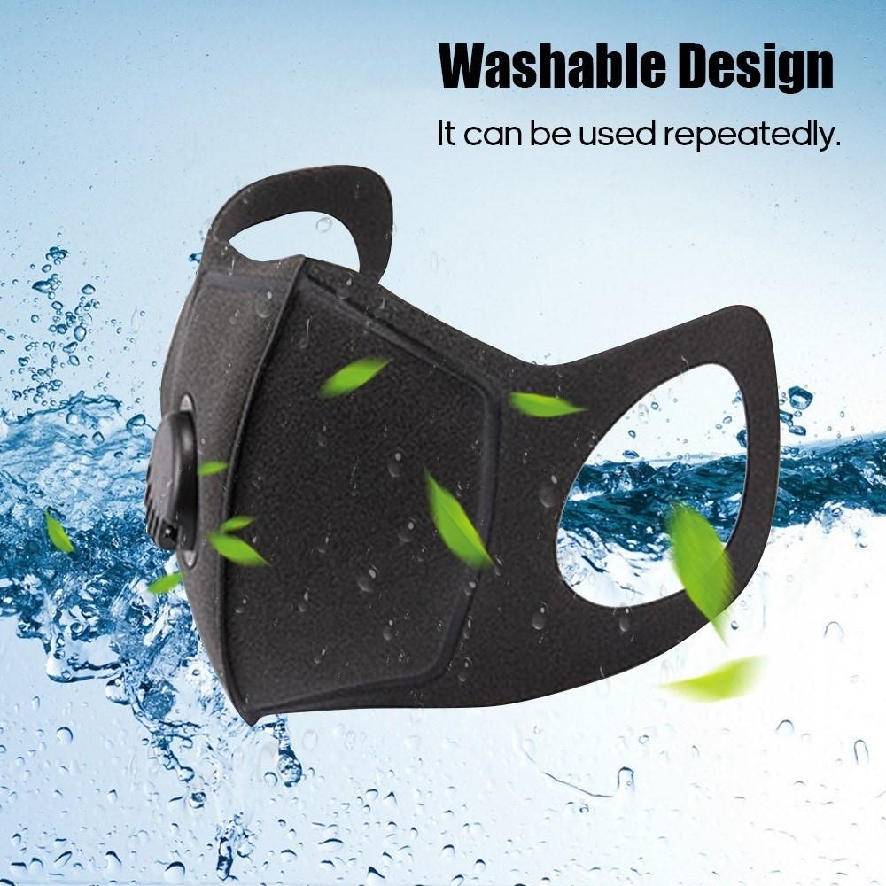 Washable sponge mask